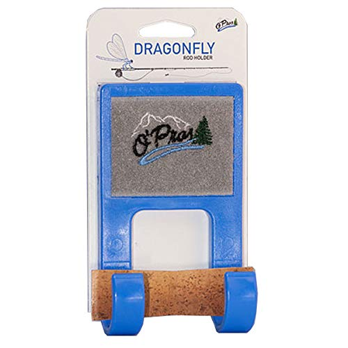O'Pros Dragonfly Belt Clip Rod Holder Blue ()