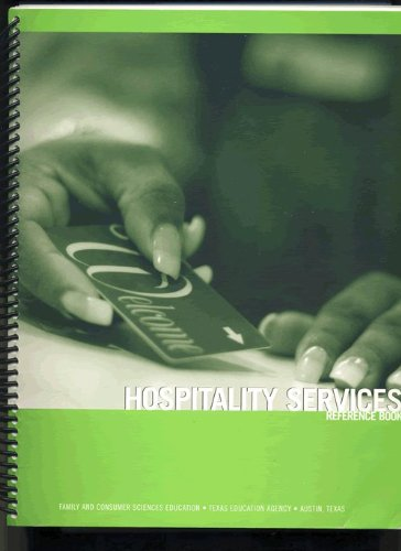 Hospitality Services Reference Book (Curriculum Center For Family And Consumer Sciences)