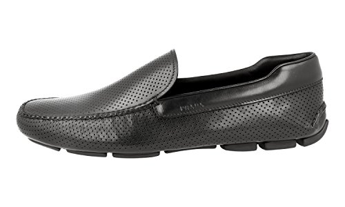 Prada Mens 2dd115 Läder Loafers