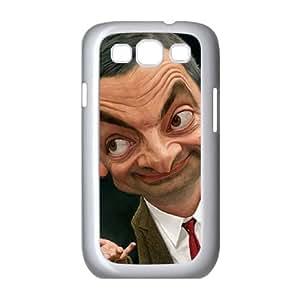 Mr Bean 001 funda Samsung Galaxy S3 9300 Cubierta blanca del teléfono celular de la cubierta del caso funda EOKXLKNBC23933
