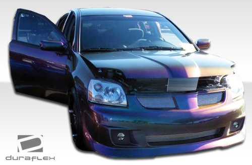 Duraflex Replacement for 2004-2007 Mitsubishi Galant G-Tech Front Bumper Cover - 1 Piece ()