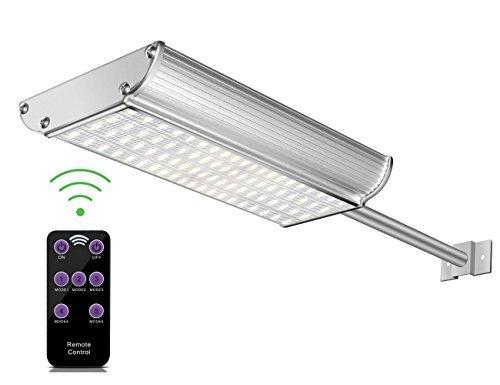 Solar luces al aire última intervensión, Polo, Radar de montaje Aluminio candelabro de pared con sensor de movimiento y...