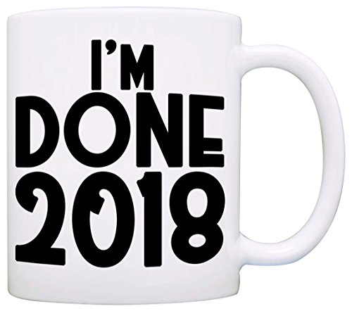 Personalized! I'm Done Date Retirement Gift Mug, Funny Humor Retired Gag Gifts for Men and Women, Printed on Both - I Of How Glasses Can Scratches Out Get My