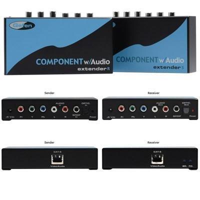 Gefen Component Audio Extender - EXTCOMPAUD141-Component with Audio Extender