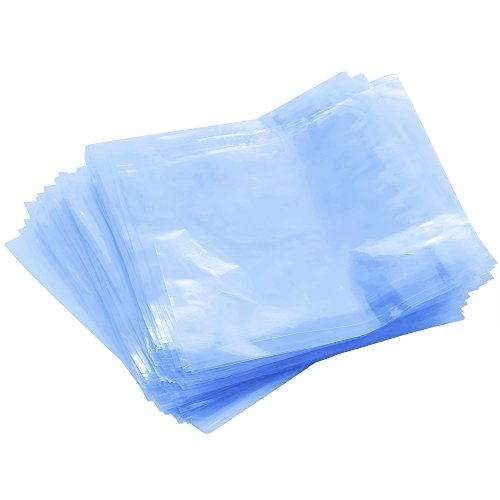 Caydo 200 Pcs 6 X 6 inch Shrink Wrap Bags for Soaps Bath Bombs and DIY Crafts ()