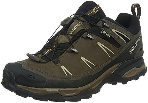 Salomon Men's X ULTRA LTR GTX Athletic Shoe, absolute brown,