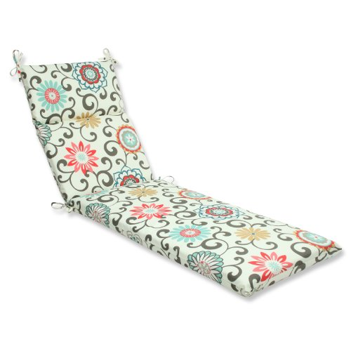 Pillow Perfect Outdoor Peachtini Cushion