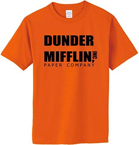 South Horizon DUNDER MIFFLIN PAPER COMPANY T-Shirt~Orange~Youth-MD