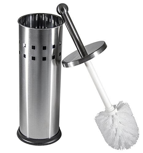 Vented Stainless Steel Toilet Brush and Holder by BNYD