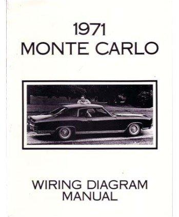 amazon com 1971 chevrolet monte carlo wiring diagrams schematics 1971 Monte Carlo Limited Edition 1971 monte carlo wiring harness