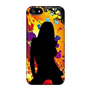Lurizvw3959jQJLf Tpu Case Skin Protector For Iphone 5/5s Dance With Nice Appearance