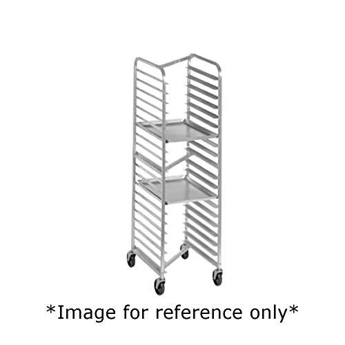 Nesting Aluminum Bun Pan Rack - Channel 426AN-HD Heavy Duty Half-Height Bun Pan Mobile Nesting Rack, 20-1/2
