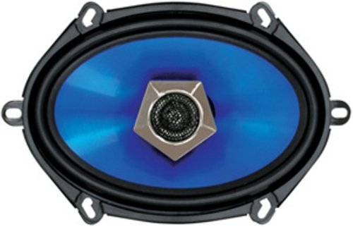 750 5 x 7 Inch 2-Way Metallic Poly-Injection Cone Speaker (Boss Audio Blade)