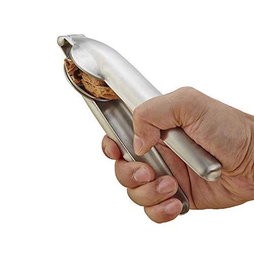 HSRG Multi-Funcional de la Nuez del Clip, 304 alicates de Nogal de Acero Inoxidable, Clip de Nogal de Acero para Espadas,...
