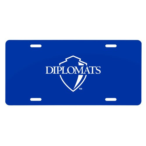 Franklin & Marshall License Plate 'Diplomats Official Logo' by CollegeFanGear
