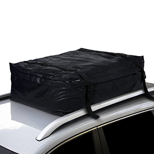 Benlet 19 Cubic Feet Car Roof Carrier, Waterproof Rooftop Soft Car Luggage Storage Bag for All Vehicles With Racks by Benlet