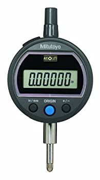 "Mitutoyo 543-502 Absolute Solar Digimatic Indicator, 0-0.5""/0-12.7mm Range, 0.00005""/0.001mm Resolution, Lug Back"