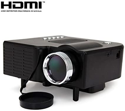 24w Mini Multimedia Lcd Image System Led Projector With Elektronik