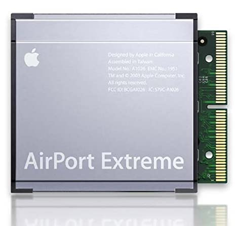 Apple MB988ZM/A - Tarjeta Airport Extreme WiFi (802.11n ...