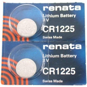 CR1225 Renata Watch Batteries 2Pcs