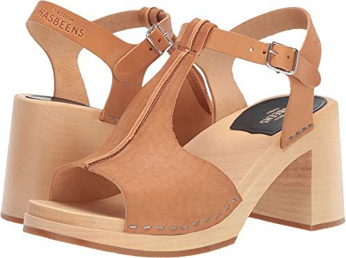 swedish hasbeens Women's Stitchy Sandal Nature 39 B EU