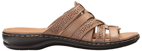 Clarks Mujeres Leisa Field Platform Sand Leather