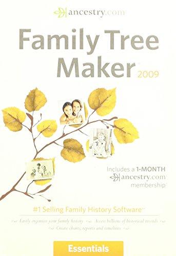ENCORE FAMILY TREE MAKER 2009