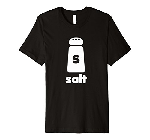 Salt Shaker Halloween Simple Costume Funny Shirt Premium ()