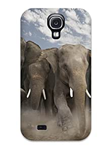 Galaxy Perfect Tpu Case For Galaxy S4 Anti Scratch Protector Case Wild Animalss