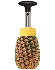 HIC Harold Import Pineapple Slicer and Corer, Stainless Steel