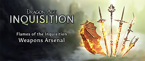 Dragon Age: Inquisition Flames of the Inquisition weapons pack DLC XBOX One