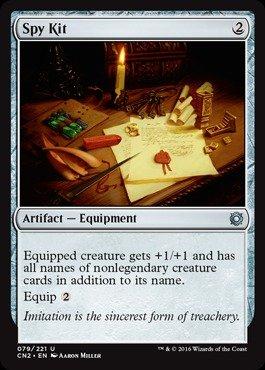Magic: the Gathering - Spy Kit (079/221) - Conspiracy 2: Take the (Super Spy Kit)