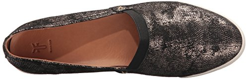 Frye Dames Melanie Slip Op Fashion Sneaker Goud / Metallic Leer