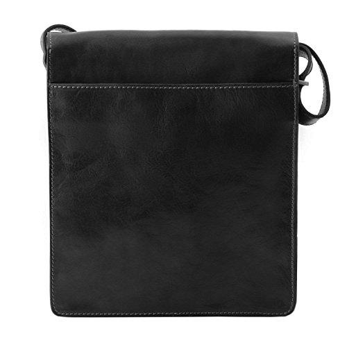 Tuscany Leather - TL Messenger - Sac bandoulière en cuir 1 compartiment - Miel