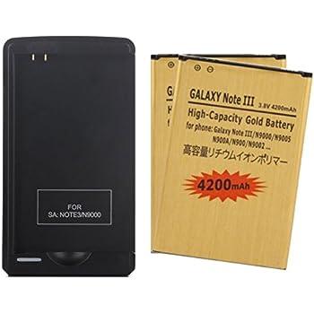 Amazon.com: 2x 4200mAh Baterías de Remplazo de Alta ...
