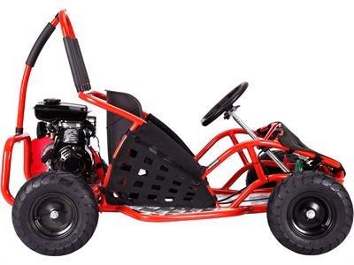 MotoTec MT-GK-05 Red Off Road Go Kart - 79Cc