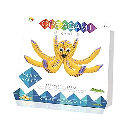 CreativaMente Creagami Octopus, Multicoloured, 722: Toys & Games