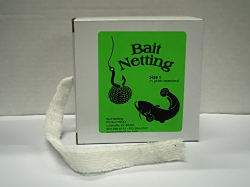 Big Vic's Bait Netting Size 1--25 yds stretched, makes 125 2