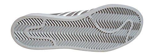Scarpe Da Ginnastica Adidas Originali Superstar Mens Sneakers S31641 (us 7, Argento Bianco Metallizzato Bb1461)