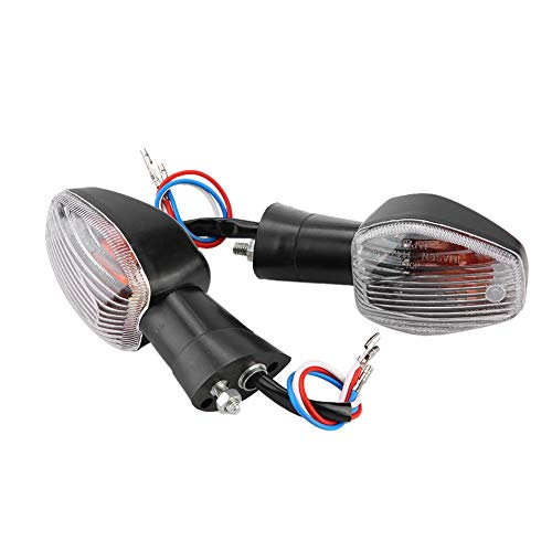Motorcycle Turn Signal Lights, Motorcycle Front Rear Turn Signal Light Indicator Lamp Fit For CB400 VTEC III: