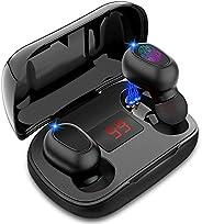 Jecoo Audífonos Inalámbricos Bluetooth 5.0 Auriculares inalámbricos Impermerable con Micrófono de Reducción de