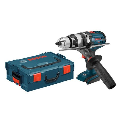 Bosch Cordless Hammer Drill (Bosch HDH181XBLRT 18V Cordless Lithium-Ion 1/2 in. Brute Tough Hammer Drill Driver with Active Response Technology (Bare Tool) (Certified Refurbished))