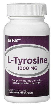 GNC L Tyrosine 1000mg 60tabs