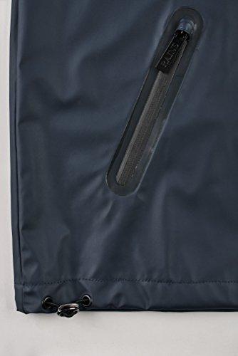 02 Rains Blue Abrigo Breaker Azul Impermeable para Hombre WT76qZwf