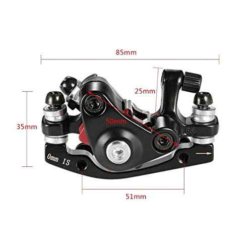 Lightweight /& Durable SM SunniMix Mechanical Disc Brake MTB Bike Cycling Bicycle Front /& Rear Caliper 160mm Rotors