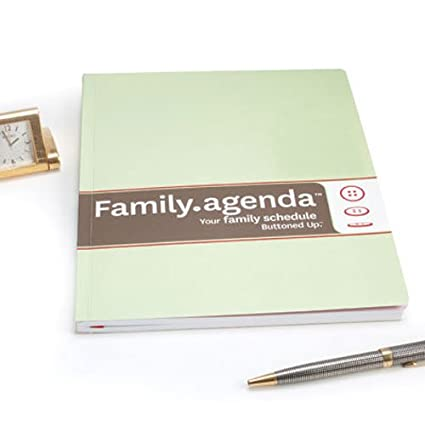 Family Agenda | Amazon Com Family Agenda Your Family Schedule Appointment Books