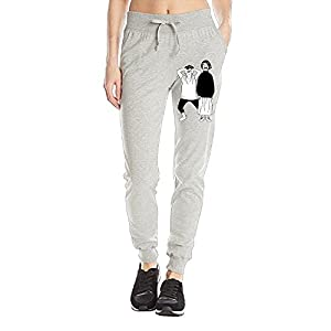 ZHONGRANINC Jogger Pants Running Trousers Sweatpants For Womens Sweet And Rude Couple Light Weight Jersey Pants