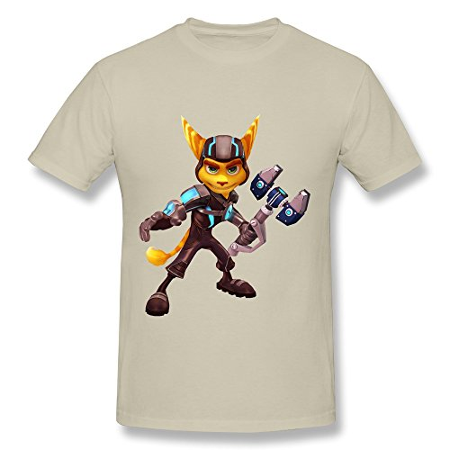 PASSIONC Men's The Comedy Ratchet And Clank T-shirt for sale  Delivered anywhere in USA