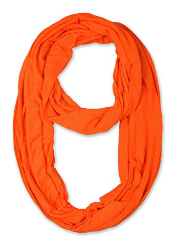 corciova Light Weight Infinity Scarf with Solid Colors International - International Free Shipping