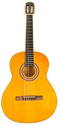 Classical Acoustic Guitar full size (38 inch) nylon string Omega Class Kit 1 w/Carry Bag